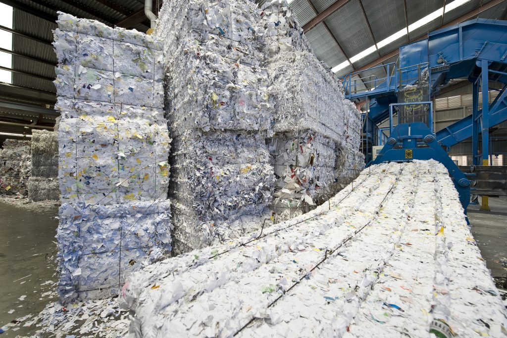 Recycling Paper and Cardboard at Paper Resource